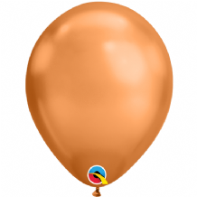 Chrome Balloons - Copper Chrome Balloons (100pcs) 7 Inch